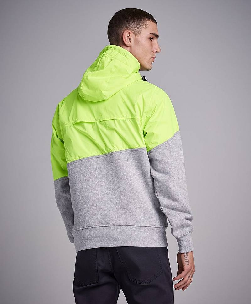 Anorak Remix Cut Jacket 900 Yellow / Grey