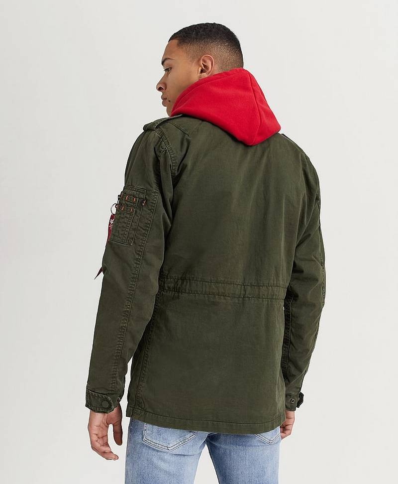 Jacka Huntington 142 Dark Olive
