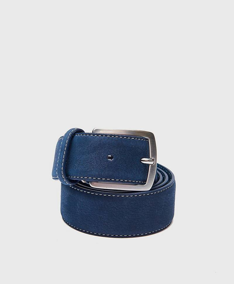 Nubuck Belt 78695 Navy