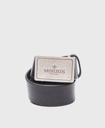 Morris Morris Belt 47065 Black Svart