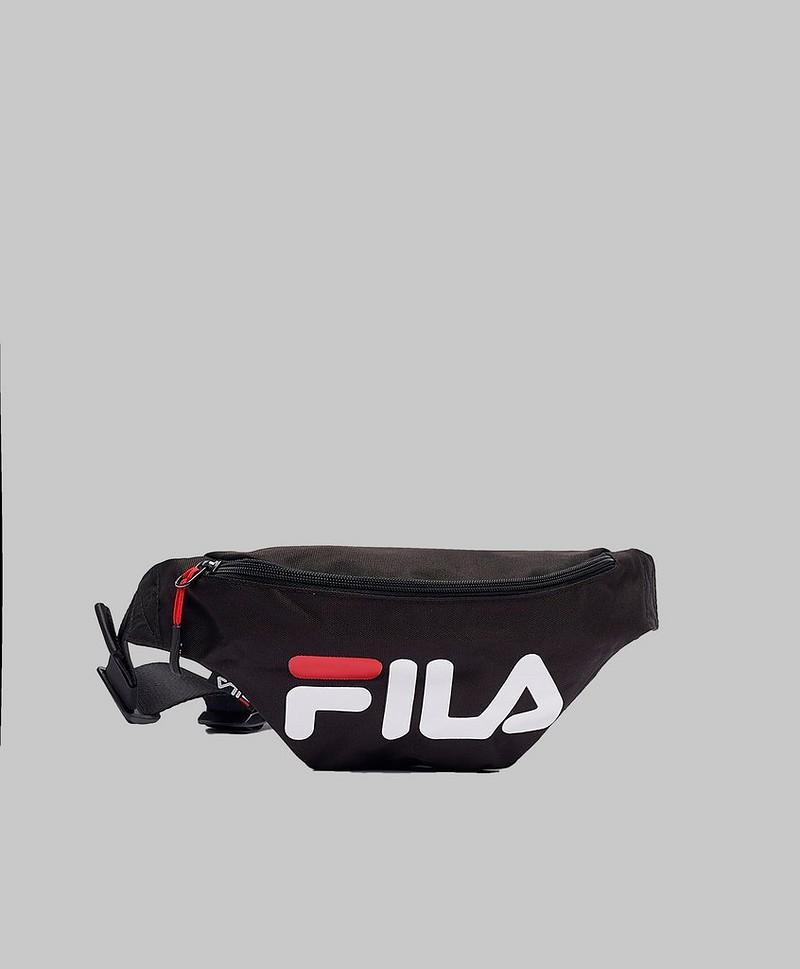 FILA Axelremsväska Waist Bag Slim Black Svart
