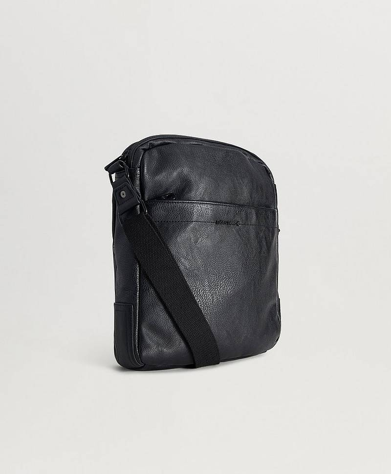 Axelremsväska John Shoulder Bag Black