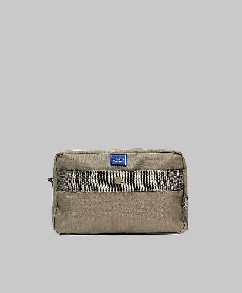 Gant Sports Washbag Deep Lichen Green