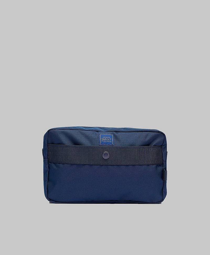 Gant Sports Washbag Marine