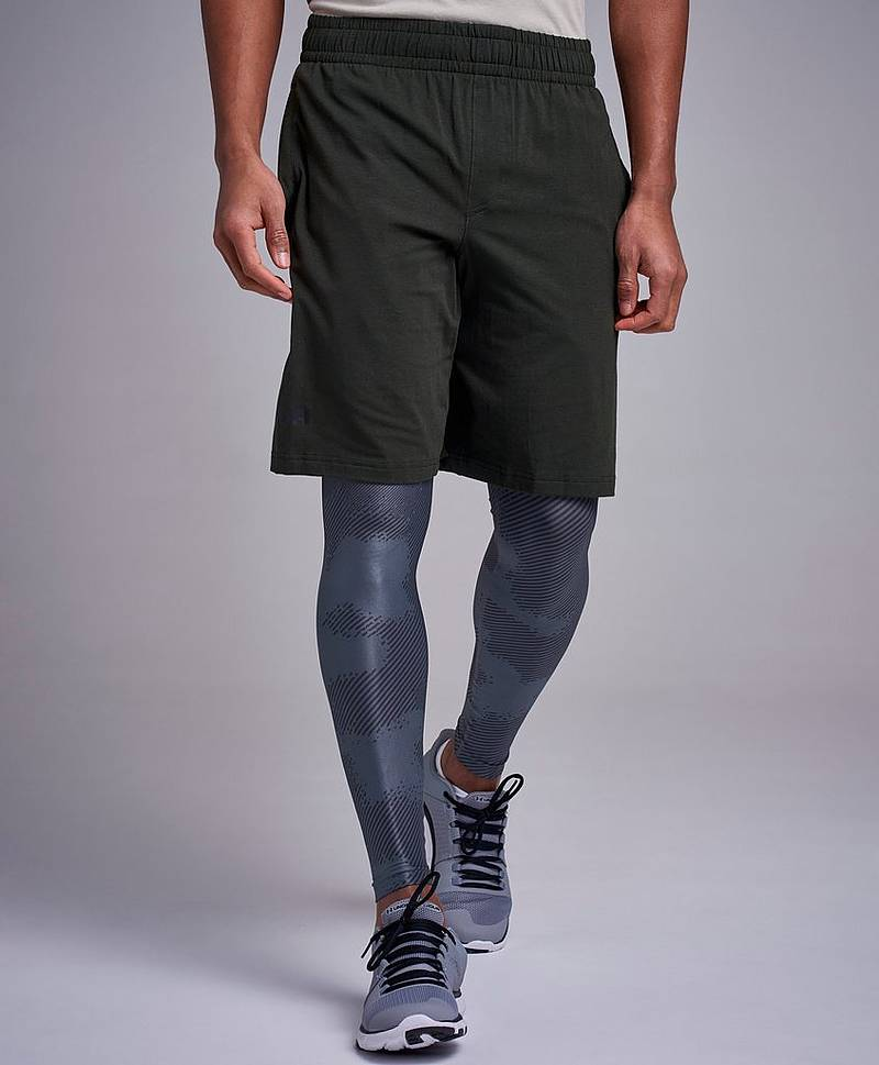 Sportstyle Cotton Graphic Shorts Artillery green/Black