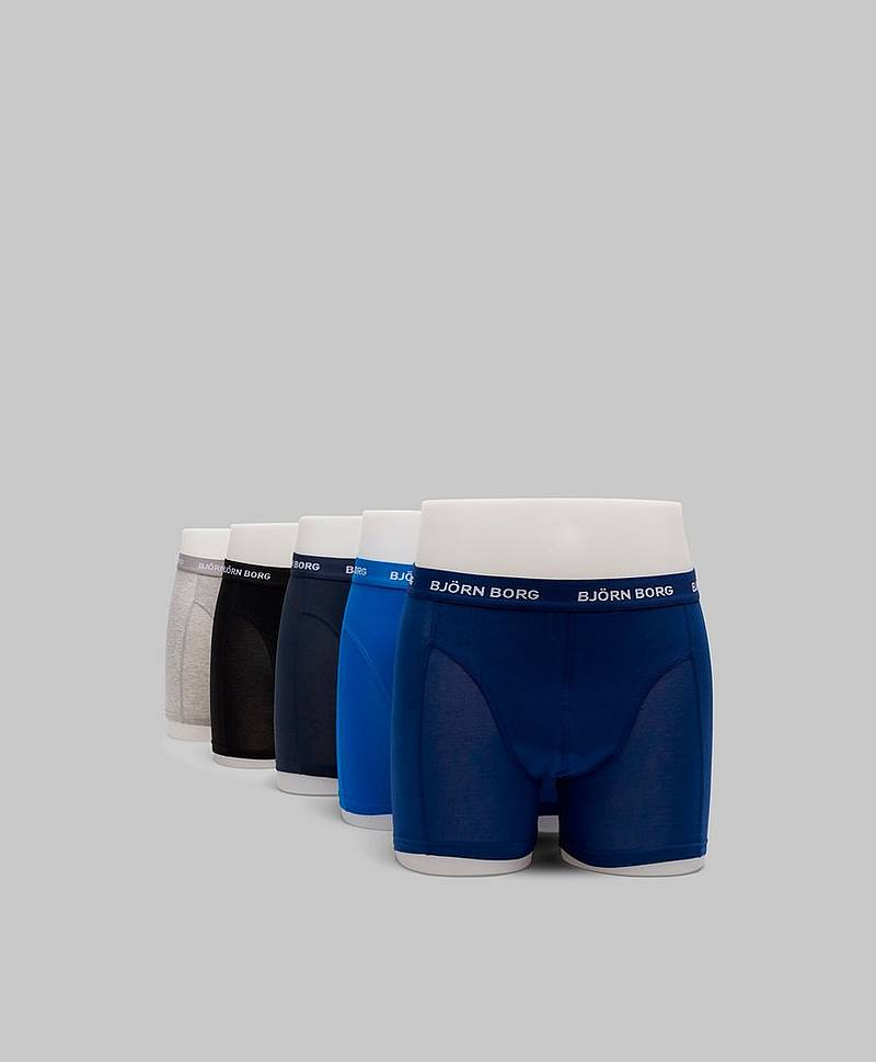 5-pack Seasonal Solid Sammy Shorts 70101 Blue Depths