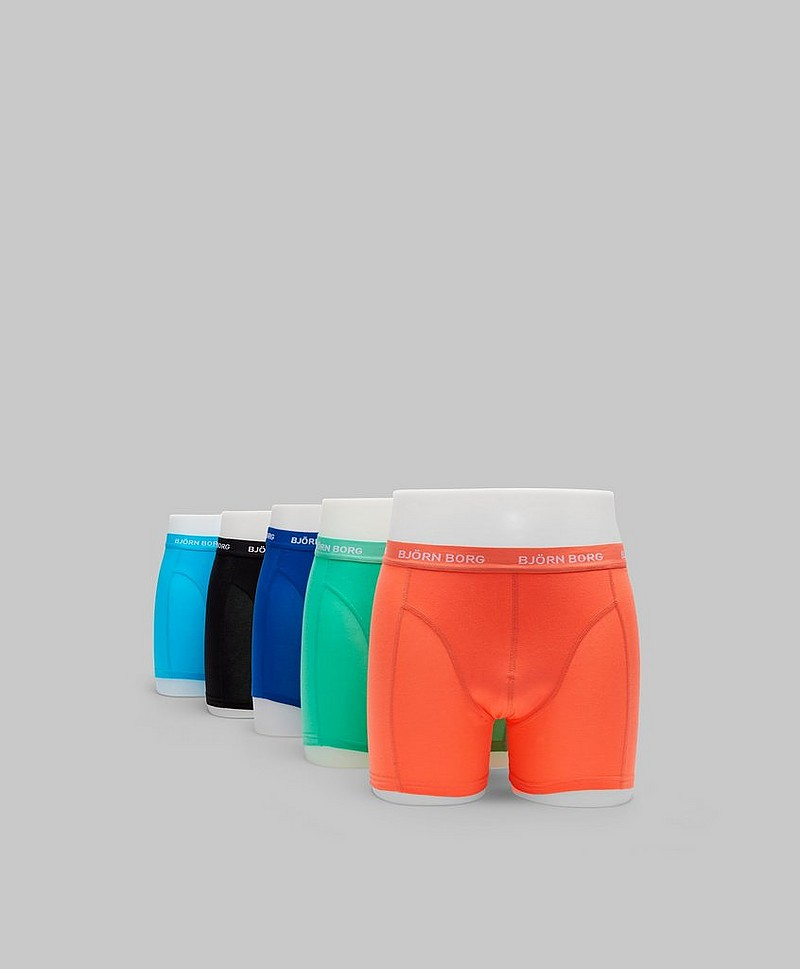 Kalsonger 5-pack Seasonal Solid Sammy Shorts 70481