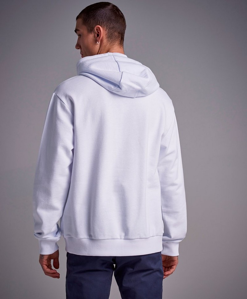 Hoodie Shawn Hooded Sweat Bright White