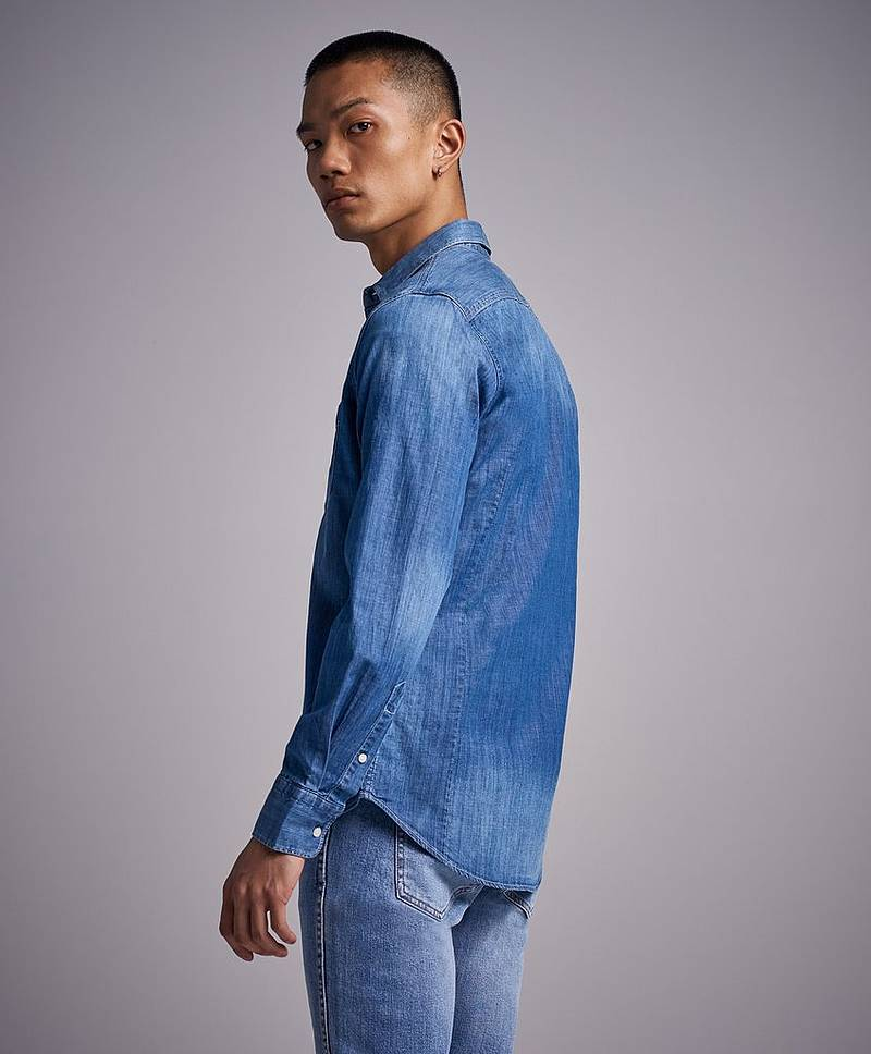 Jeansskjorta RBJ Denim Shirt