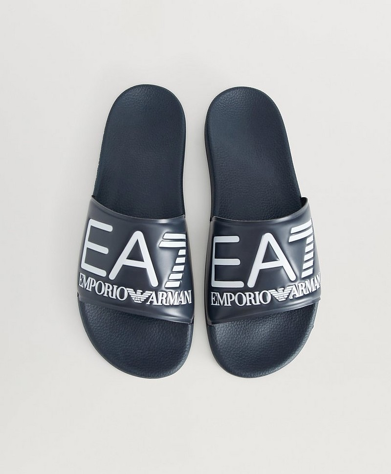 Sea World Slipper Navy