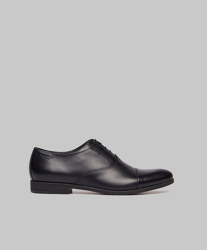 Herresko Linhope Leather Black