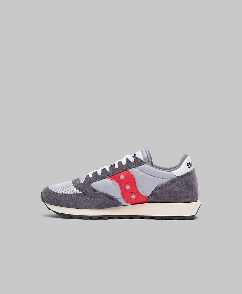 Jazz Vintage Grey / Red