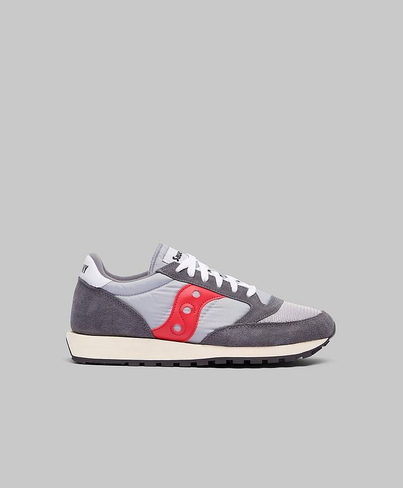 Sneakers Jazz Vintage Grey / Red
