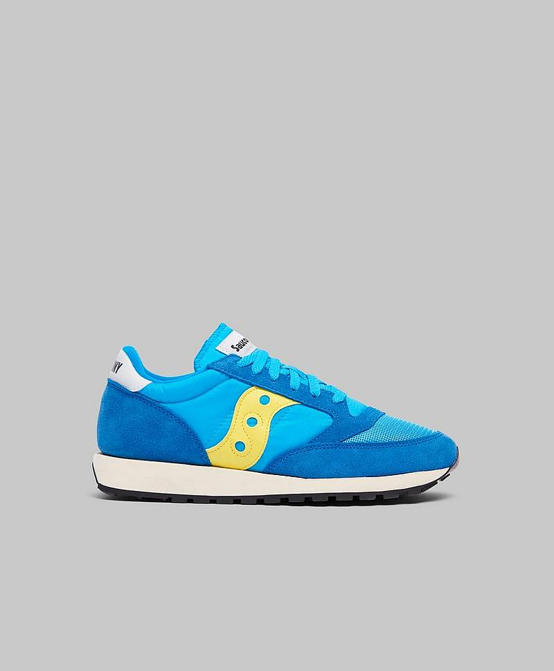 Sneakers Jazz Vintage Blue / Yellow