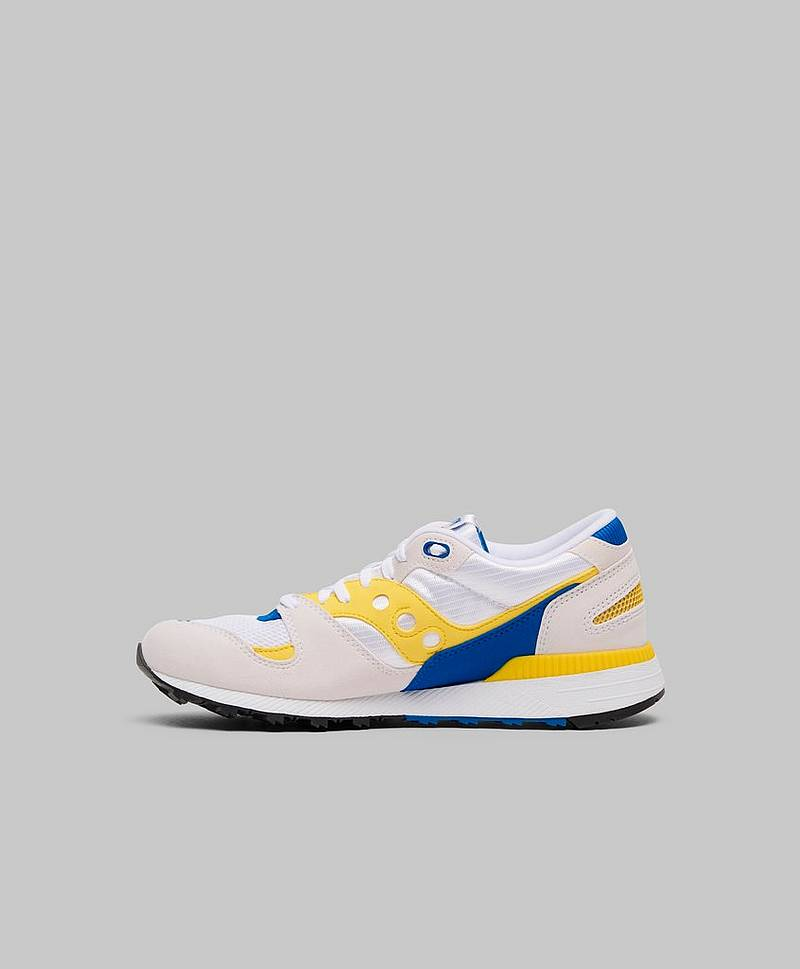 Azura White / Yellow / Blue