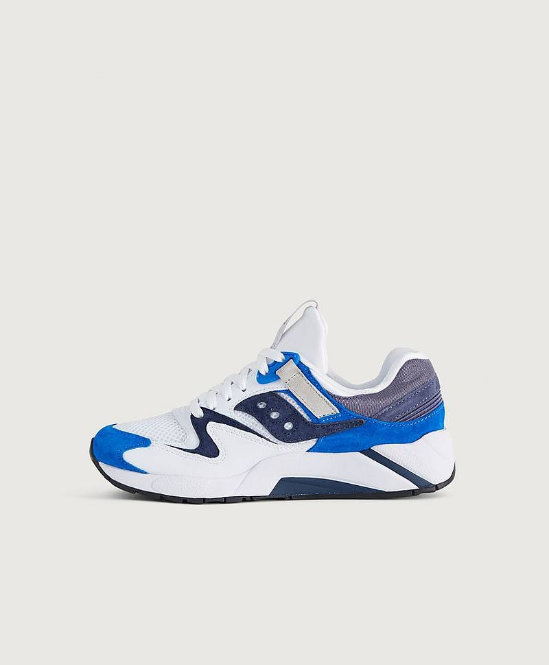 Sneakers Grid 9000 White / Blue
