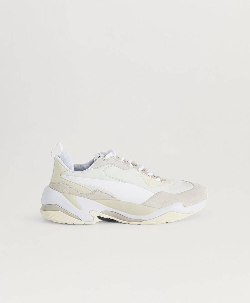 Sneakers Thunder Nature Silver Gray-Whisper White-Cloud Cream