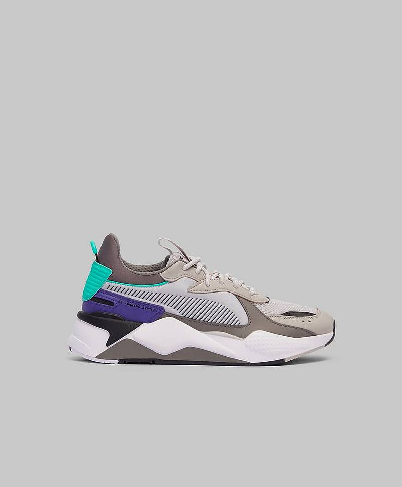 Sneakers RS-X TRACKS Gray Violet-Charcoal Gray