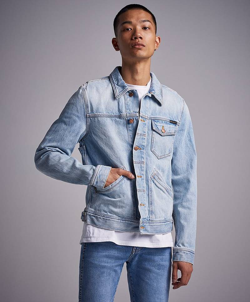Jeansjacka Tommy Epic Wash Light Blue