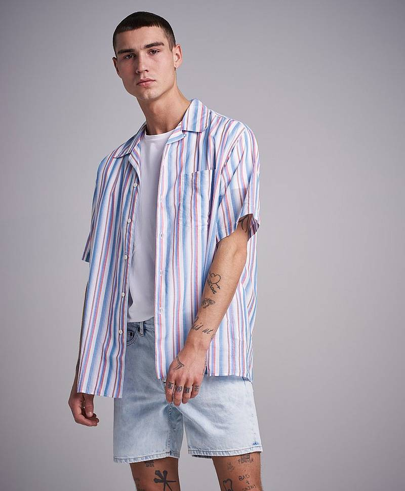 Camp Shirt Multistripe