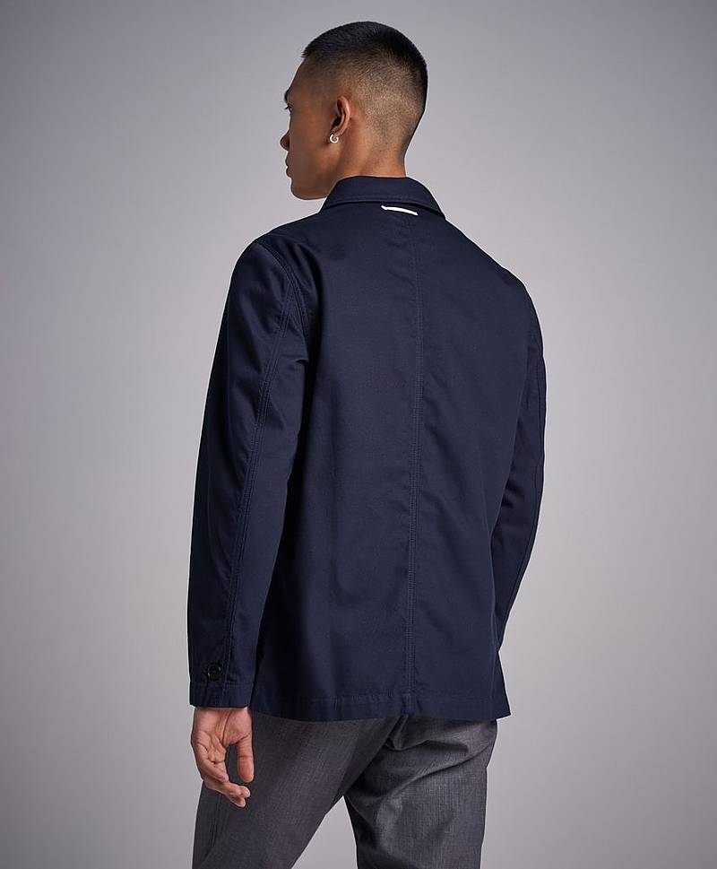 Shirt Jacket Dark Navy