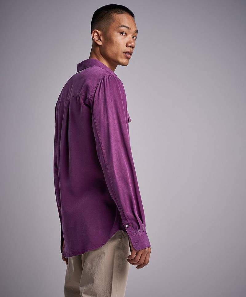 Woodsman Shirt Purple