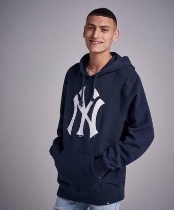 Bilde av 47 Brand Hoodie Mlb Ny Yankees Headline Hoodie Navy Blå