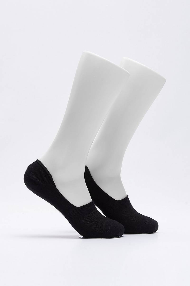 Strømper 2-Pack Invisible Sock White