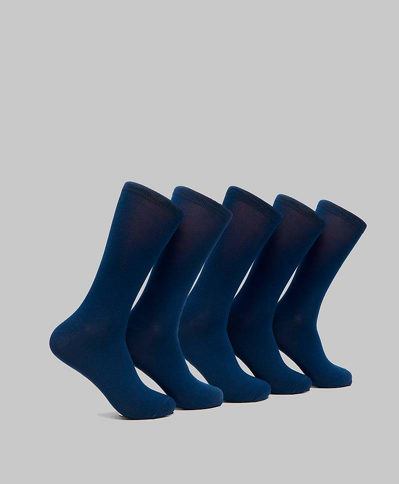 5-pack Invisible Bamboo Socks