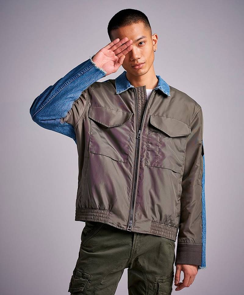 LMC Spliced Trucker Bomber