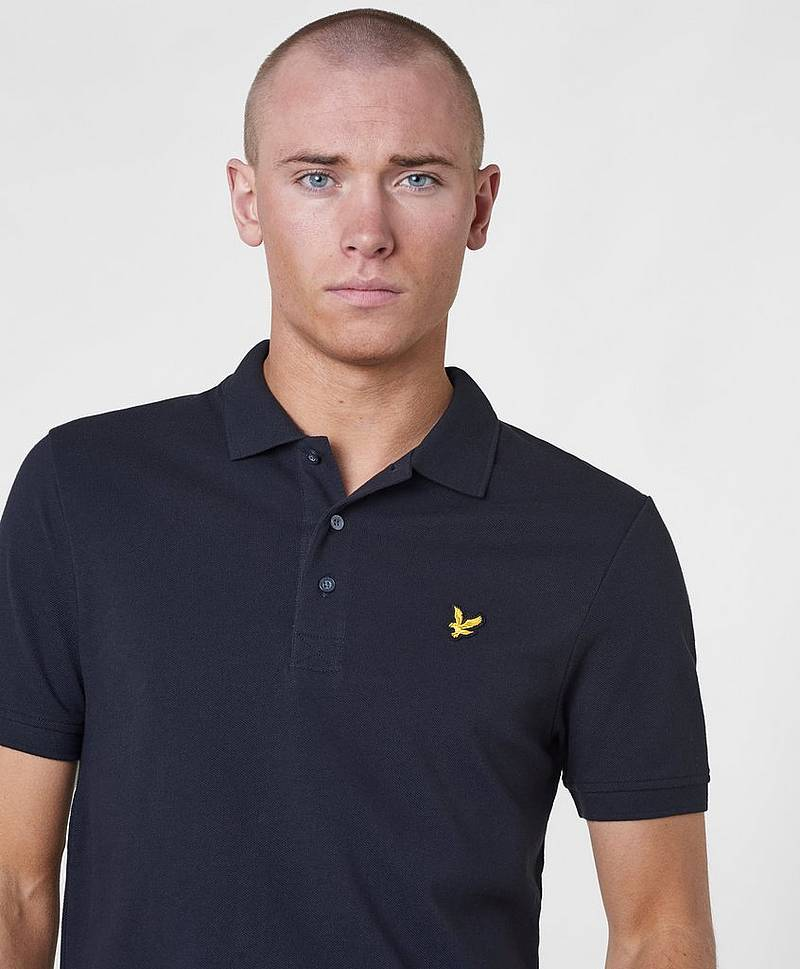 Poloshirt Plain Polo Shirt