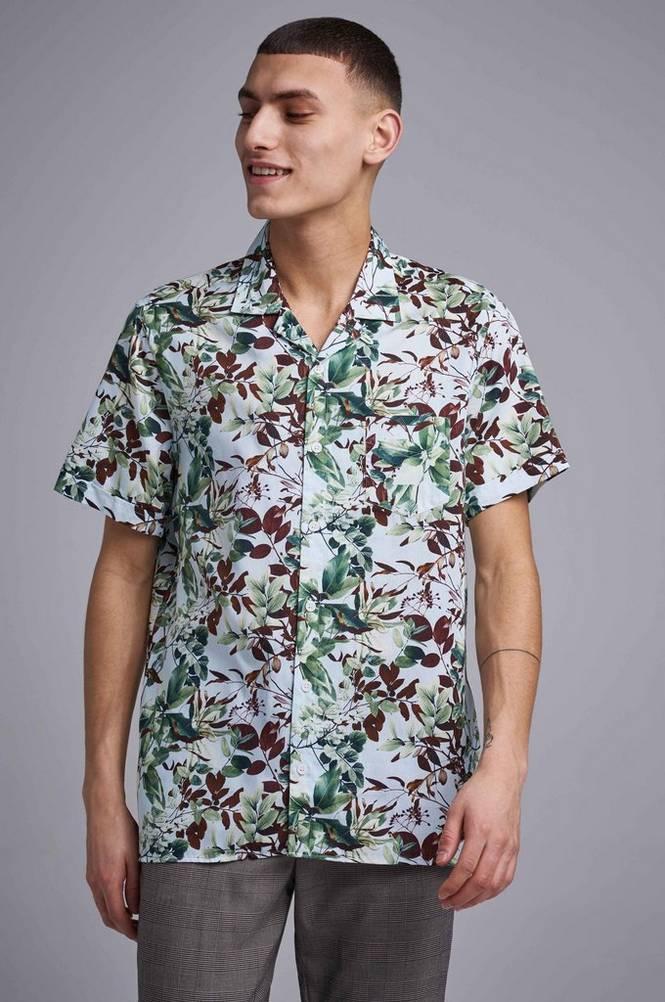 Kauluspaita Resort Satin Shirt