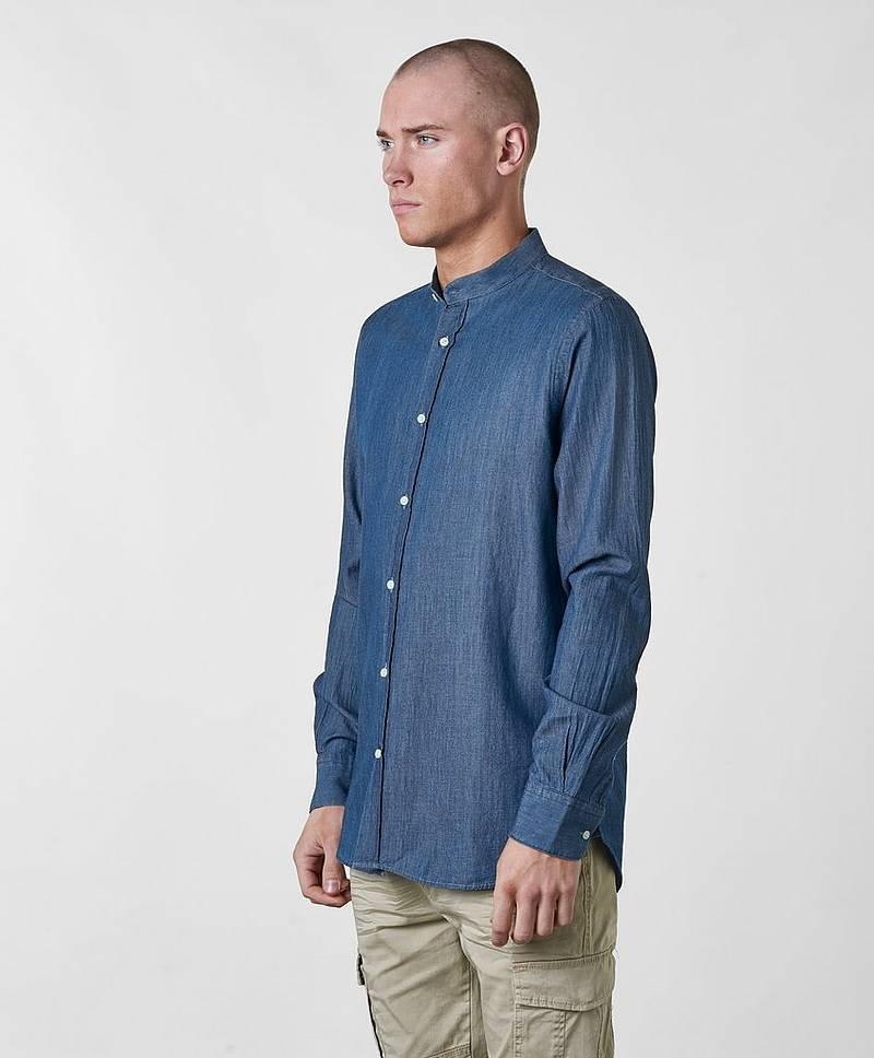 Hans Grandad Collar Shirt