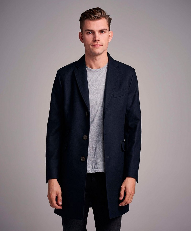 Rock Mayfair Wool Coat