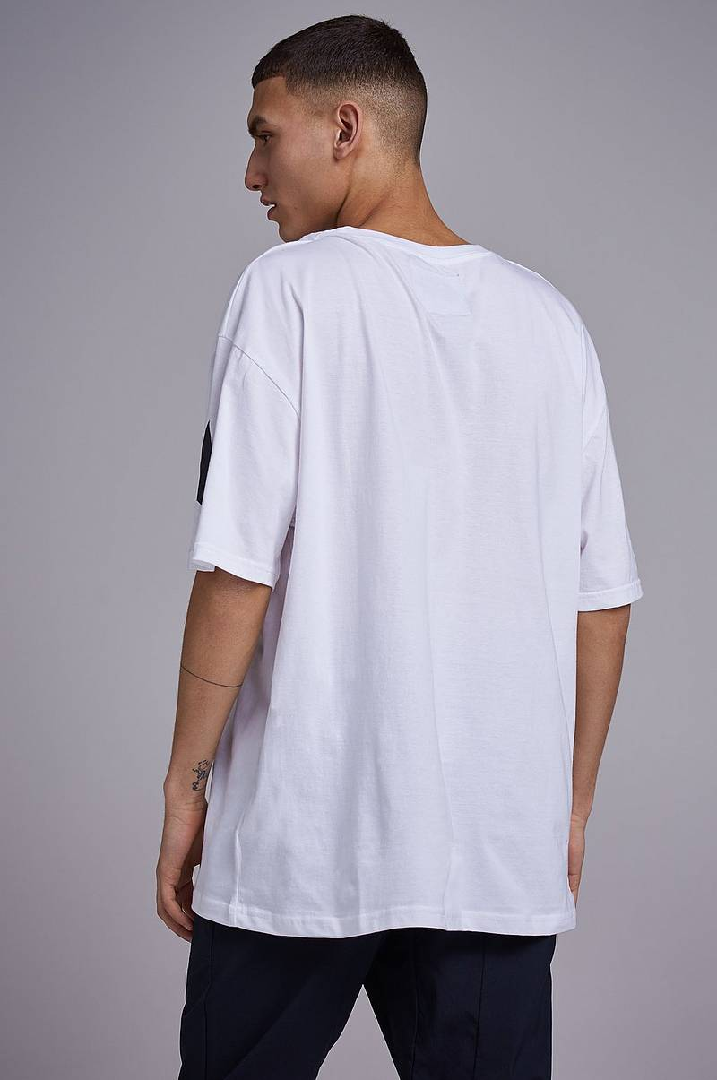 T-shirt Tape sleeve tee