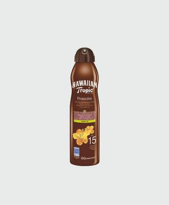 Hawaiian Tropic Dry Oil Argan C-spray SPF 15 Grå