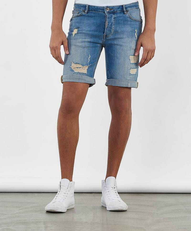 Jeansshorts Nevada Shorts Torn Blue