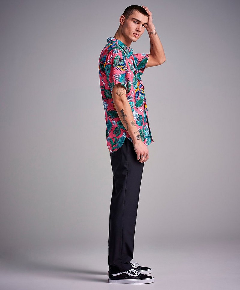 Skjorta Hawaii Printed S/S Shirt