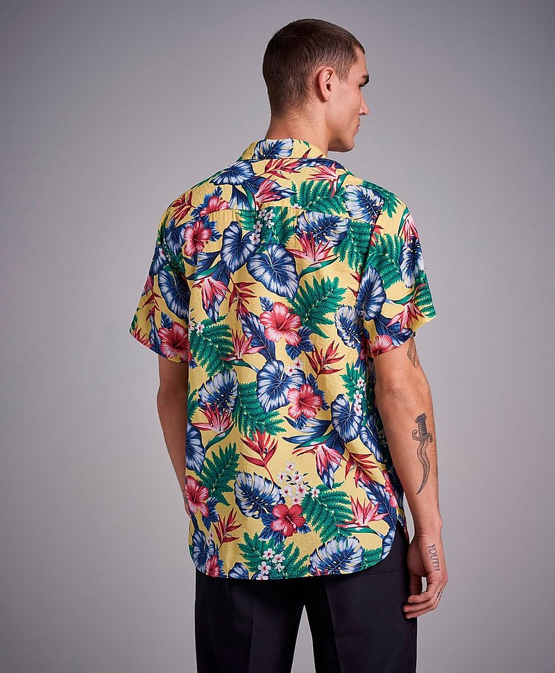 Skjorte Hawaii Printed S/S Shirt