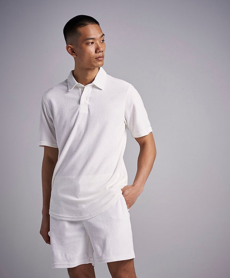 Pikétröja Joel Ighe Terry Short Sleeve Shirt