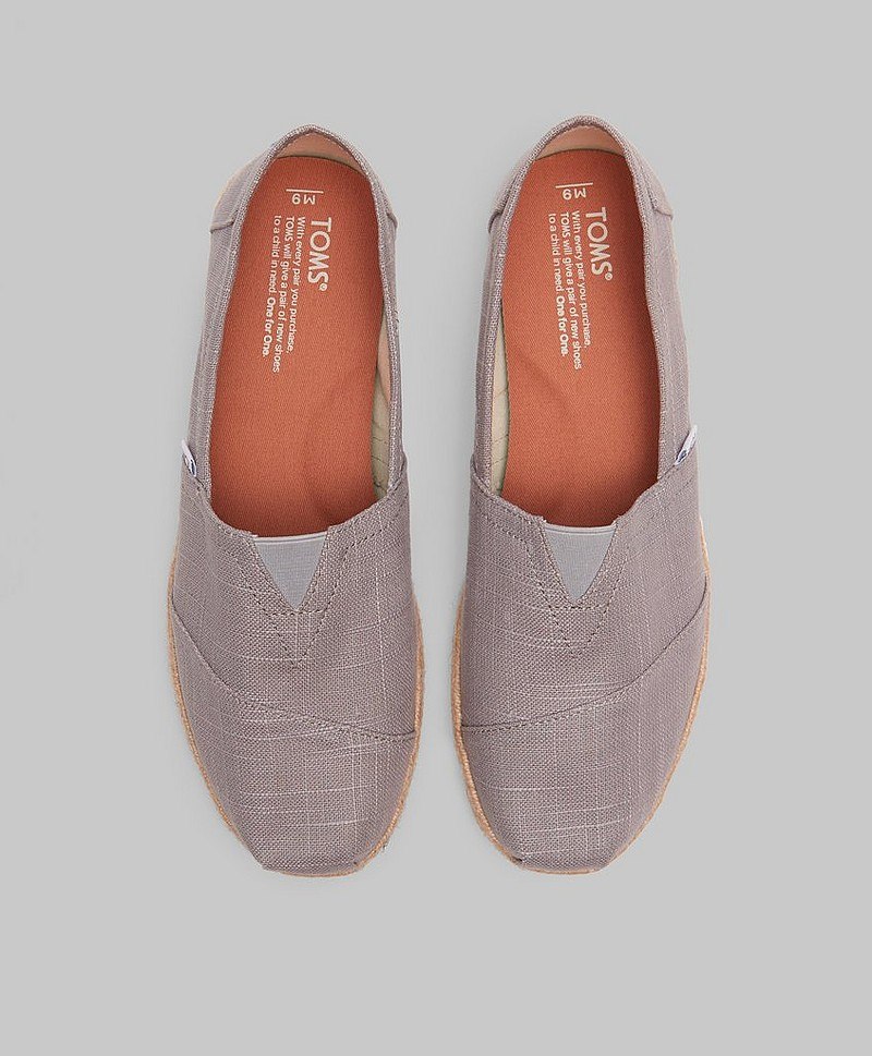 Espadrillos Alpargata Light Grey