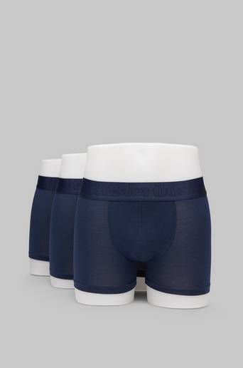Resteröds Boxer Bamboo 5-pack Regular Leg Light Grey, Navy, Optic White, Pitch Black, Stone Grey L