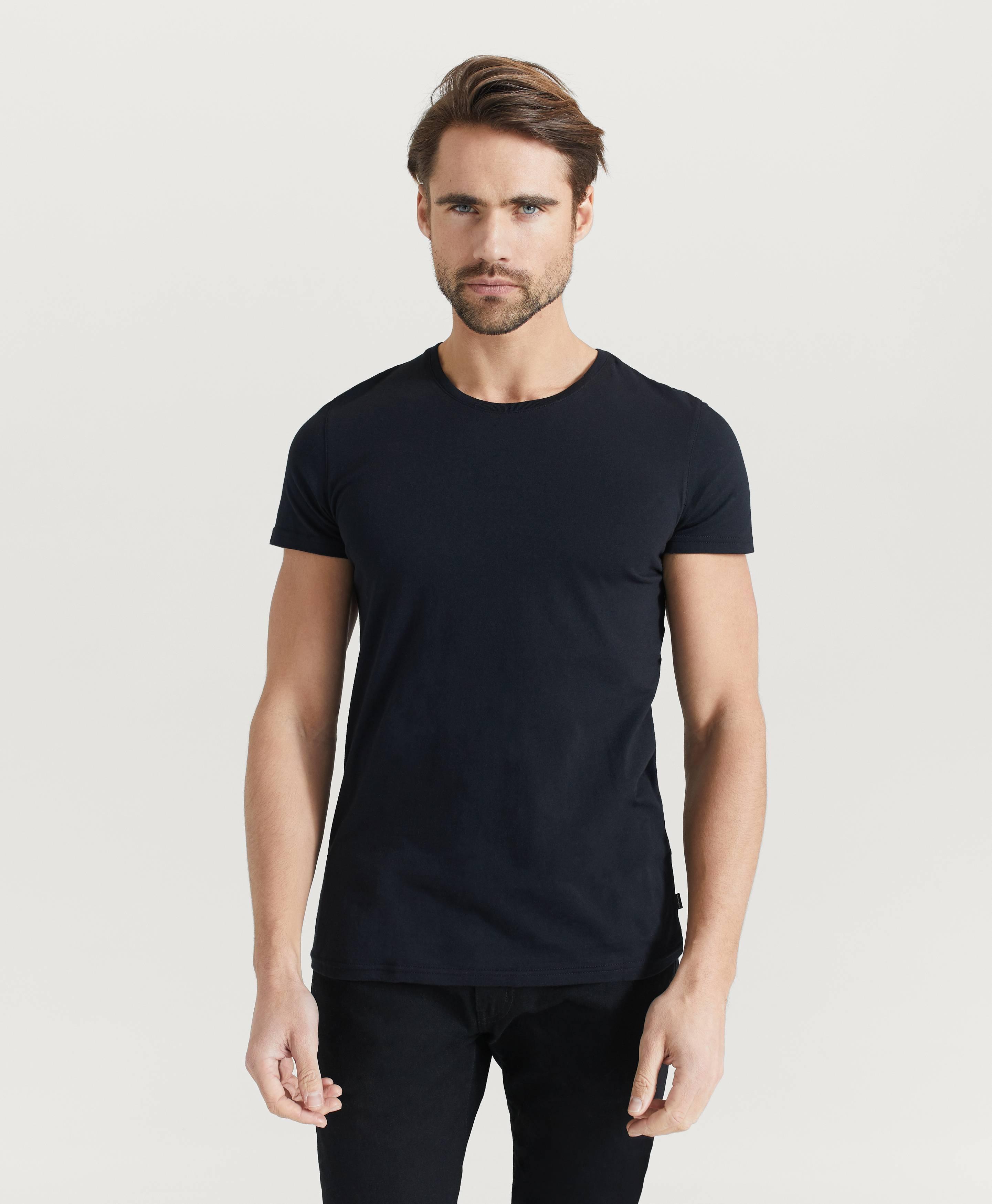 Resteröds T-shirt Original R-neck Tee Svart