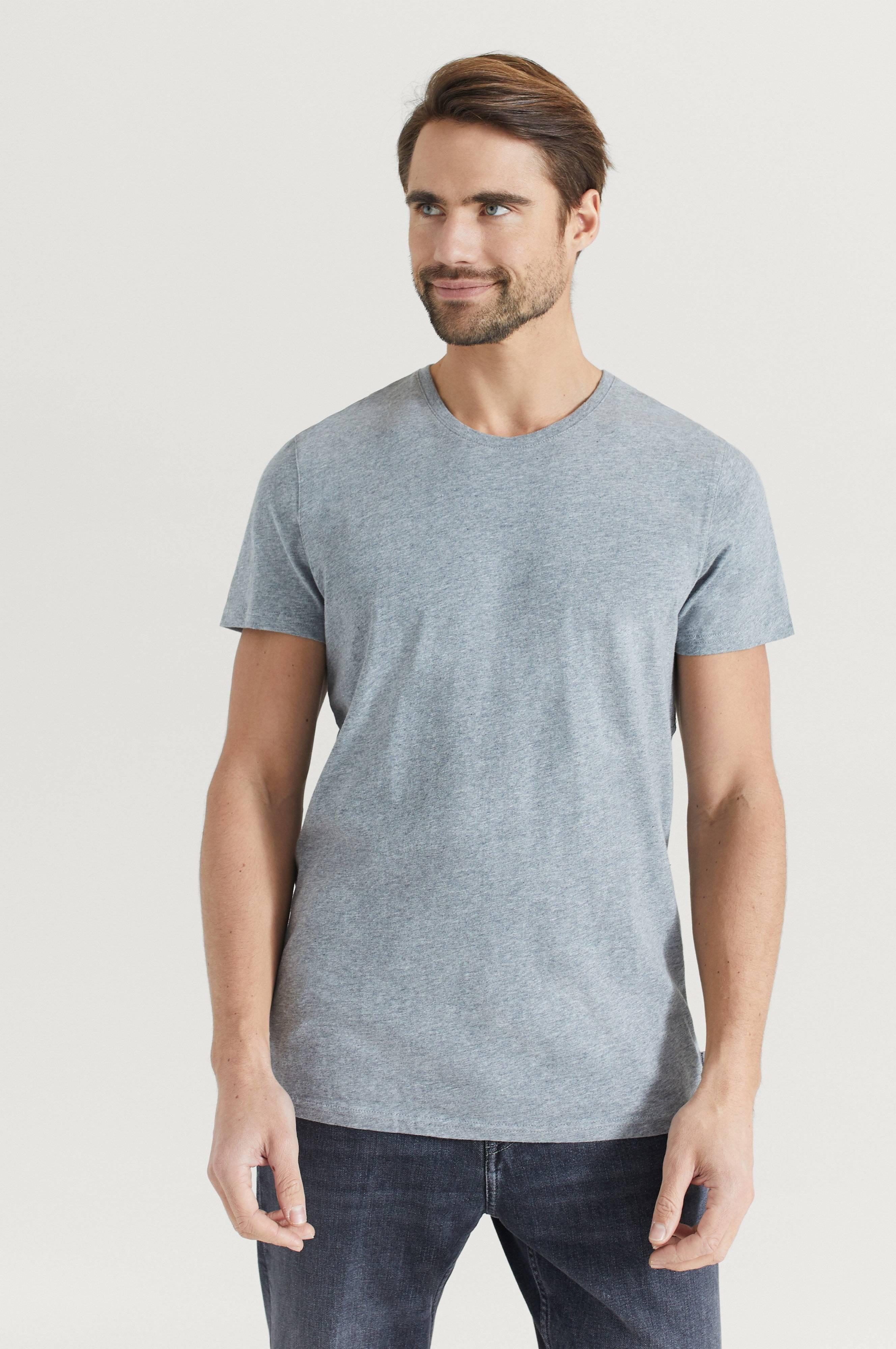 Resteröds T-shirt Original R-neck Tee Grå