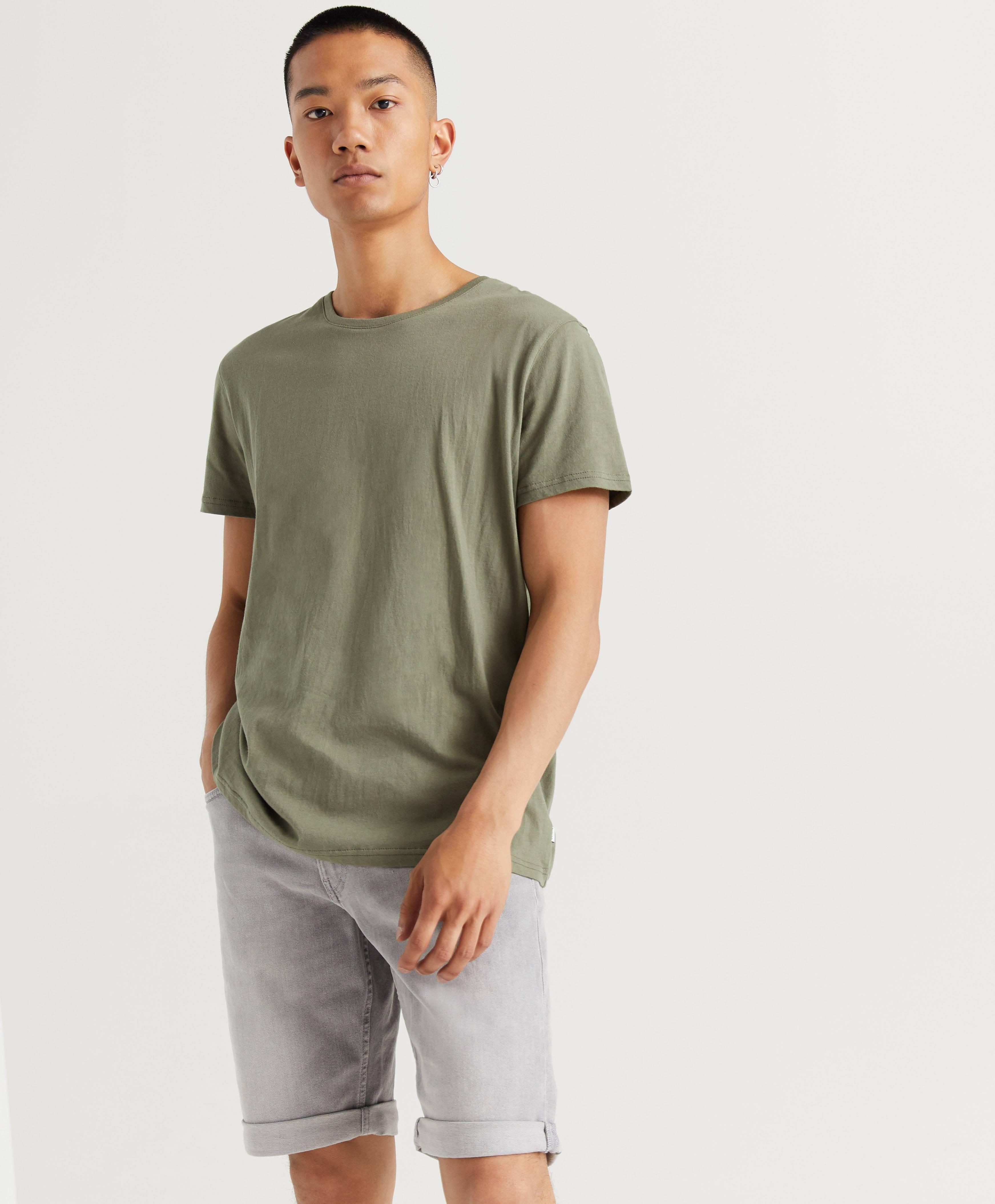 Resteröds T-shirt Original R-neck Tee Grön