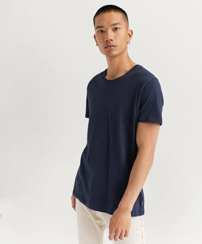 Resteröds T-shirt Original R-neck Tee Blå