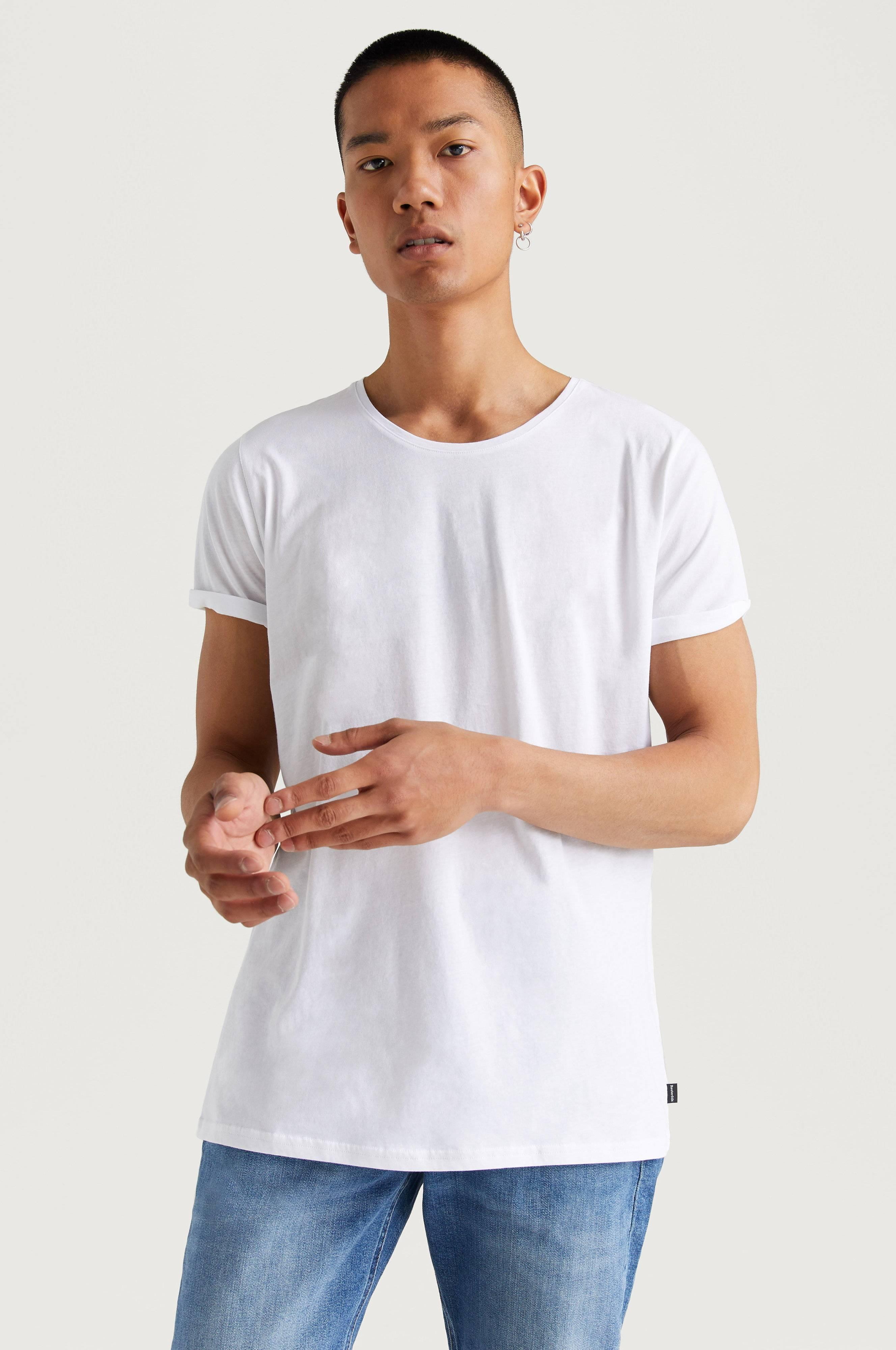 Resteröds T-shirt Jimmy Solid Tee Vit