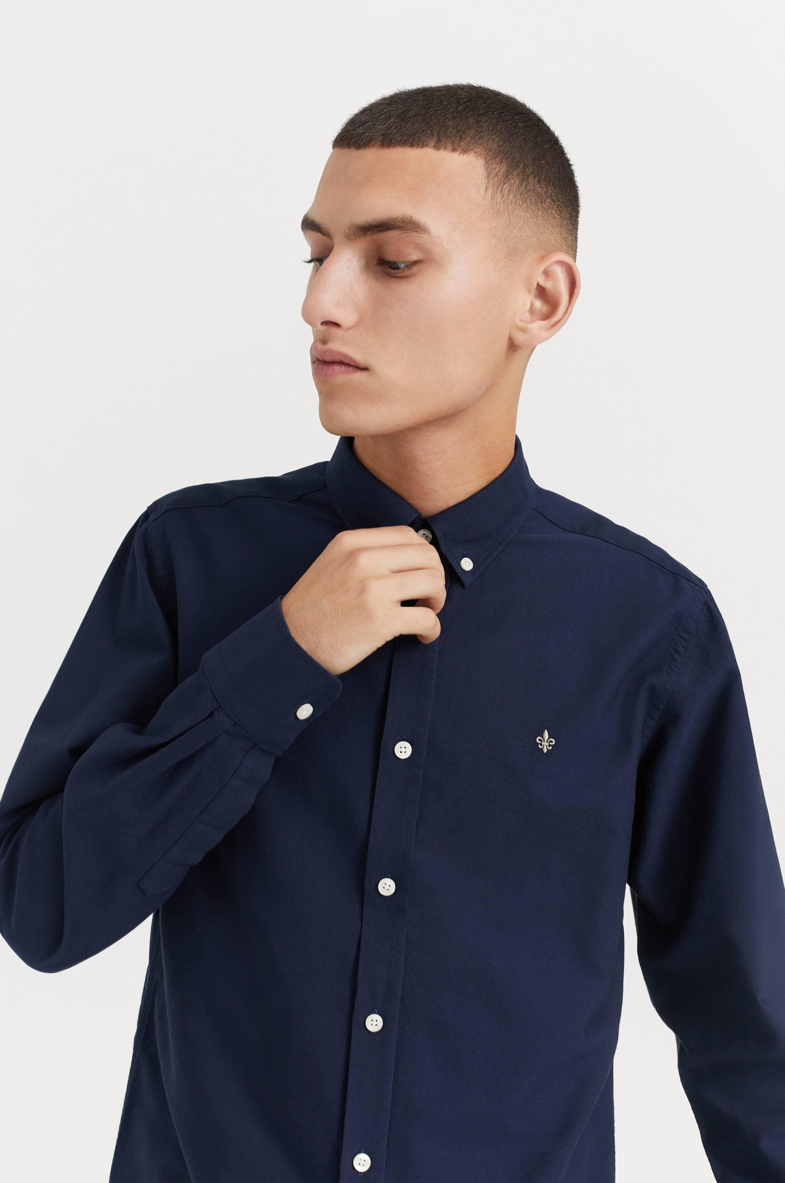 Morris Douglas Shirt Skjortor Navy