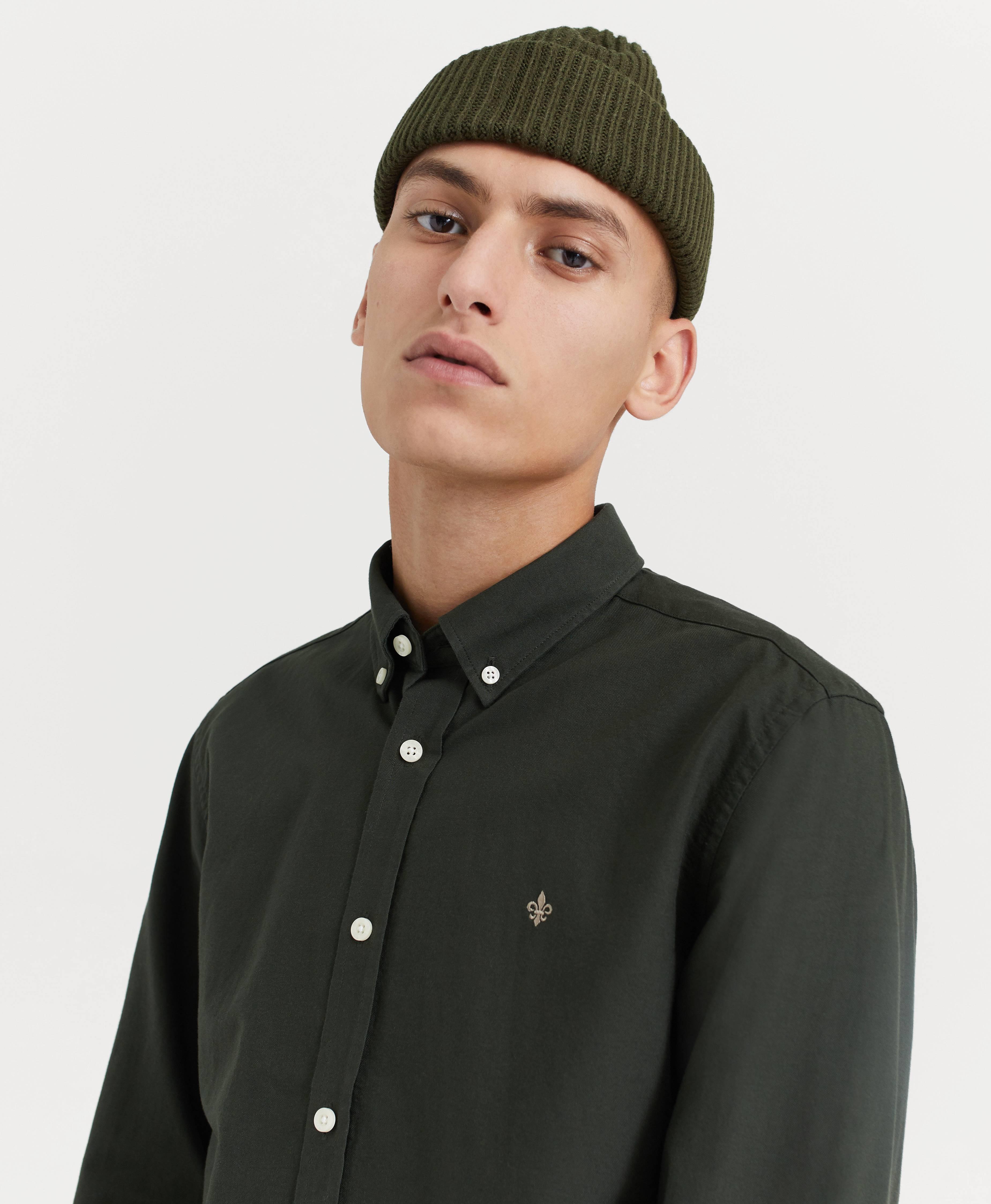 Morris Douglas Oxford Shirt Grön