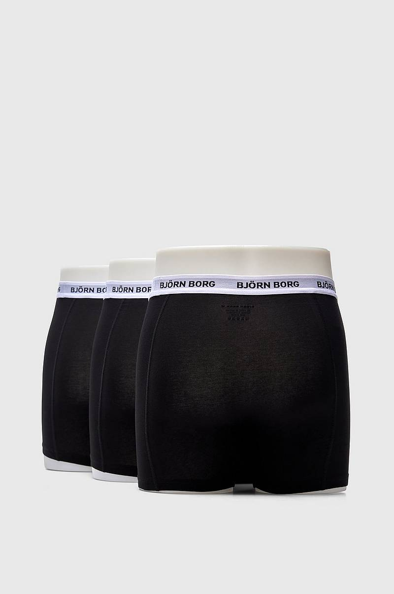 Boxershorts Noos Contrast Solids 3-pack
